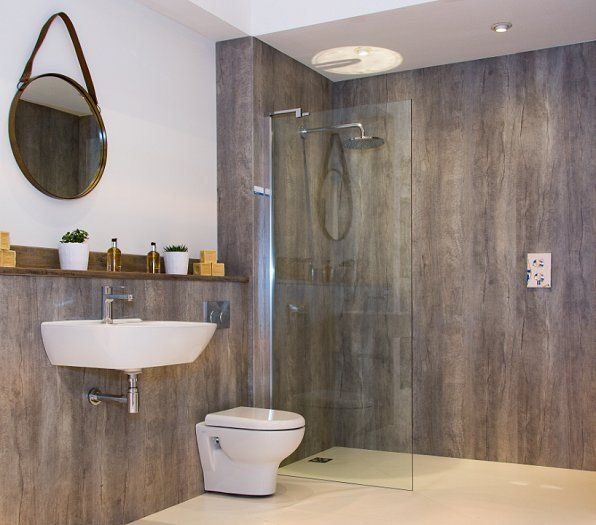 Bushboard s nuance laminate wallpanels allow retailers to - Laminate tiles for bathroom walls ...