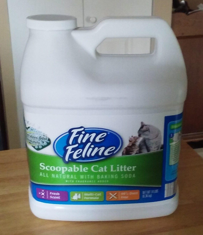 Fine Feline Scoopable Cat Litter Cat litter