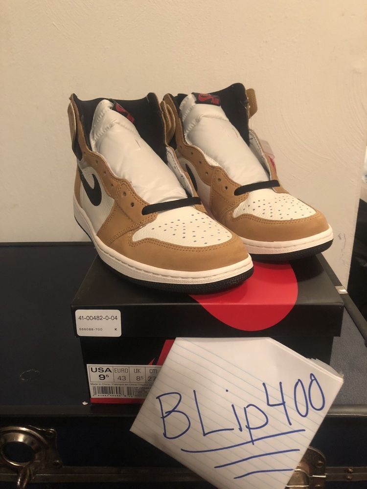Nike Air Jordan 1 Retro High Og Rookie Of The Year Ds New Size 9 5
