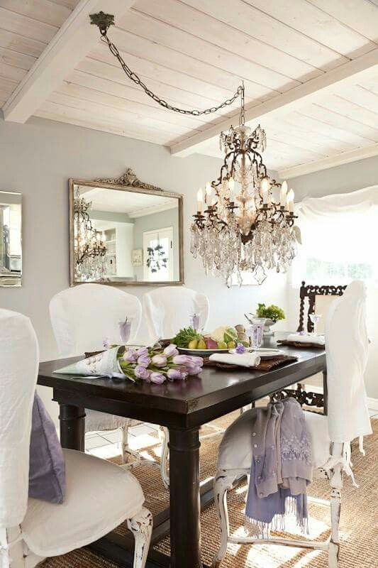 Elegant Dining Room Chandeliers Unique Pinrose Petals And Pearls On Home Decor That I Love Design Ideas