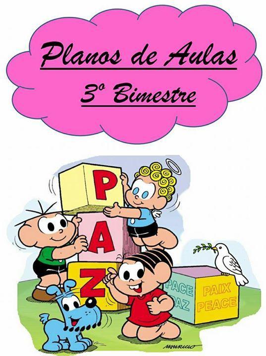 Planner Para Professor 2018 Turma Da Monica Educacao Infantil