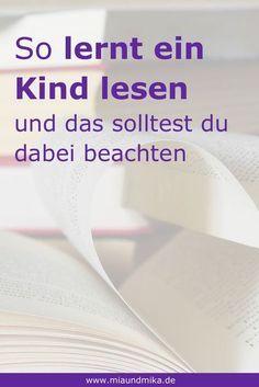 1. Klasse, lesen lernen, üben | Deutsch | Pinterest
