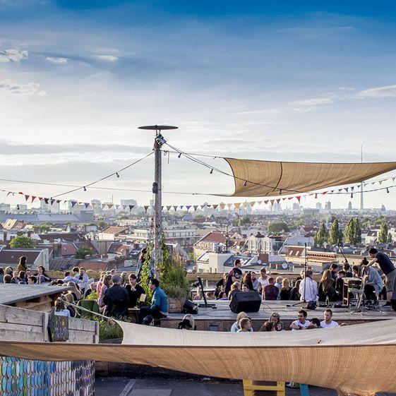 Berlin Arcade S Concrete Car Park Transformed Into The