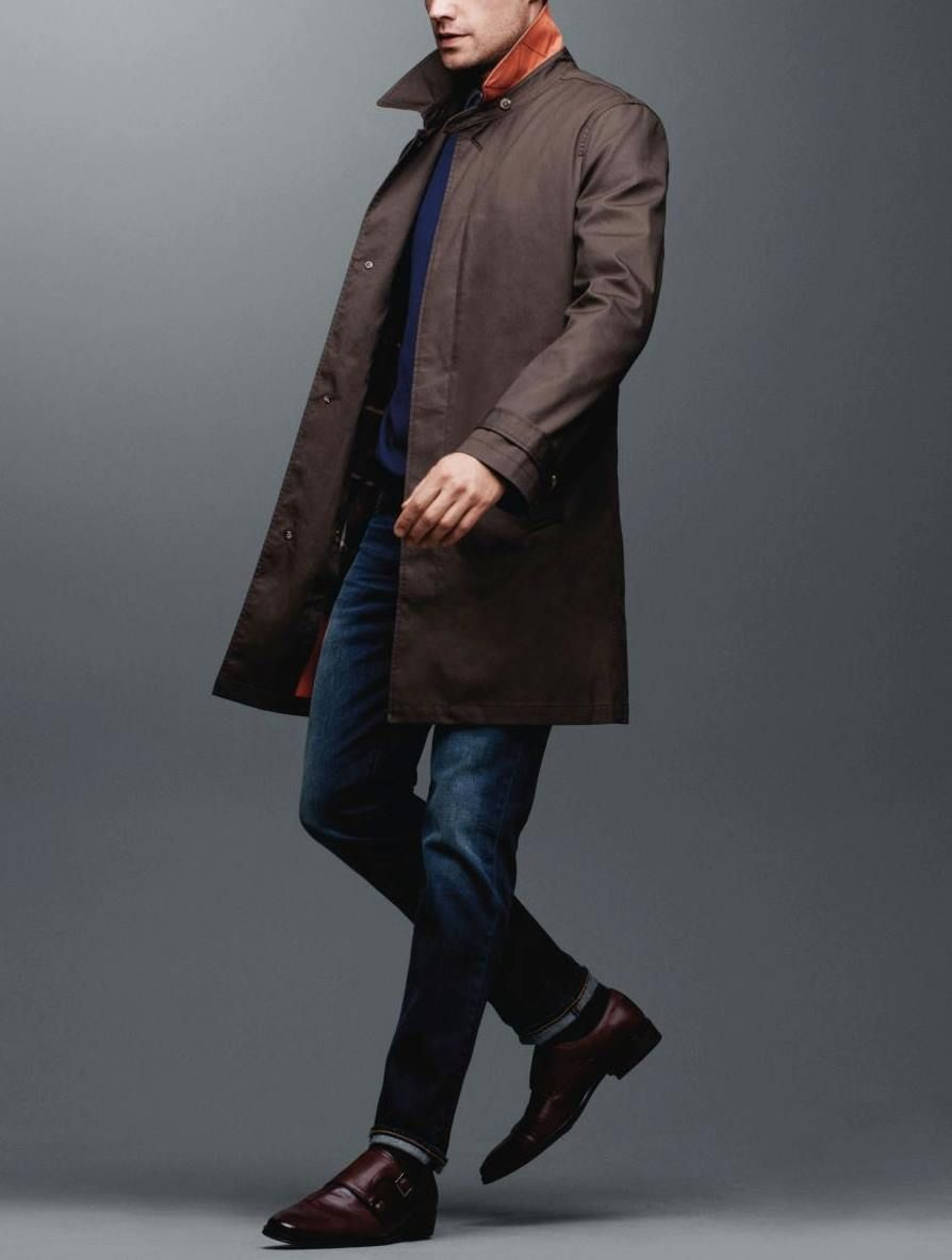 Introducing The All Weather Trench Coat By Black Brown 1826 Shop The Collection Now Http Www Thebay Com Webapp Wcs Stores Mens Coats Coat Style And Grace