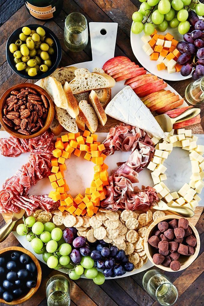 New Year's Eve Charcuterie Board Recipe in 2020