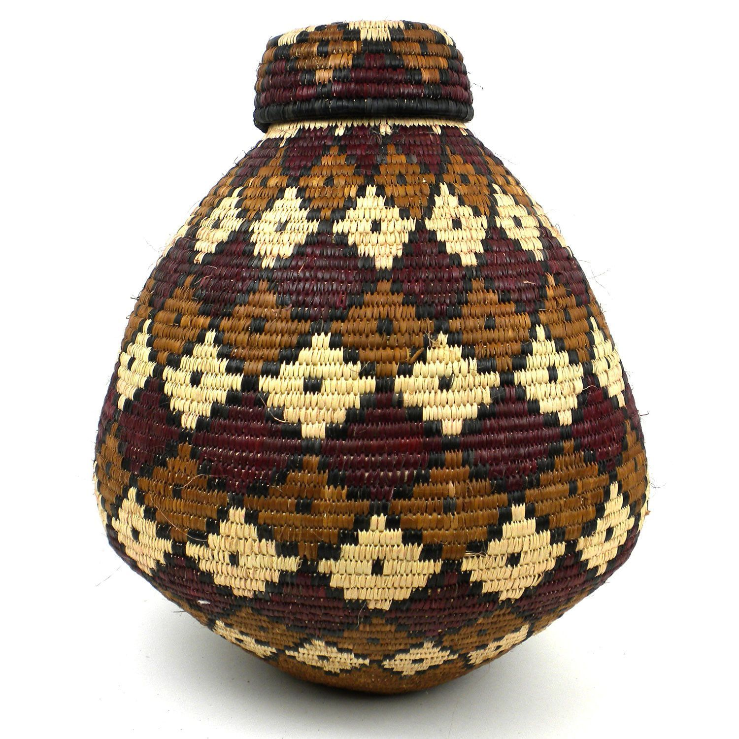 Zulu Wedding Basket - 077 - Ilala Weavers