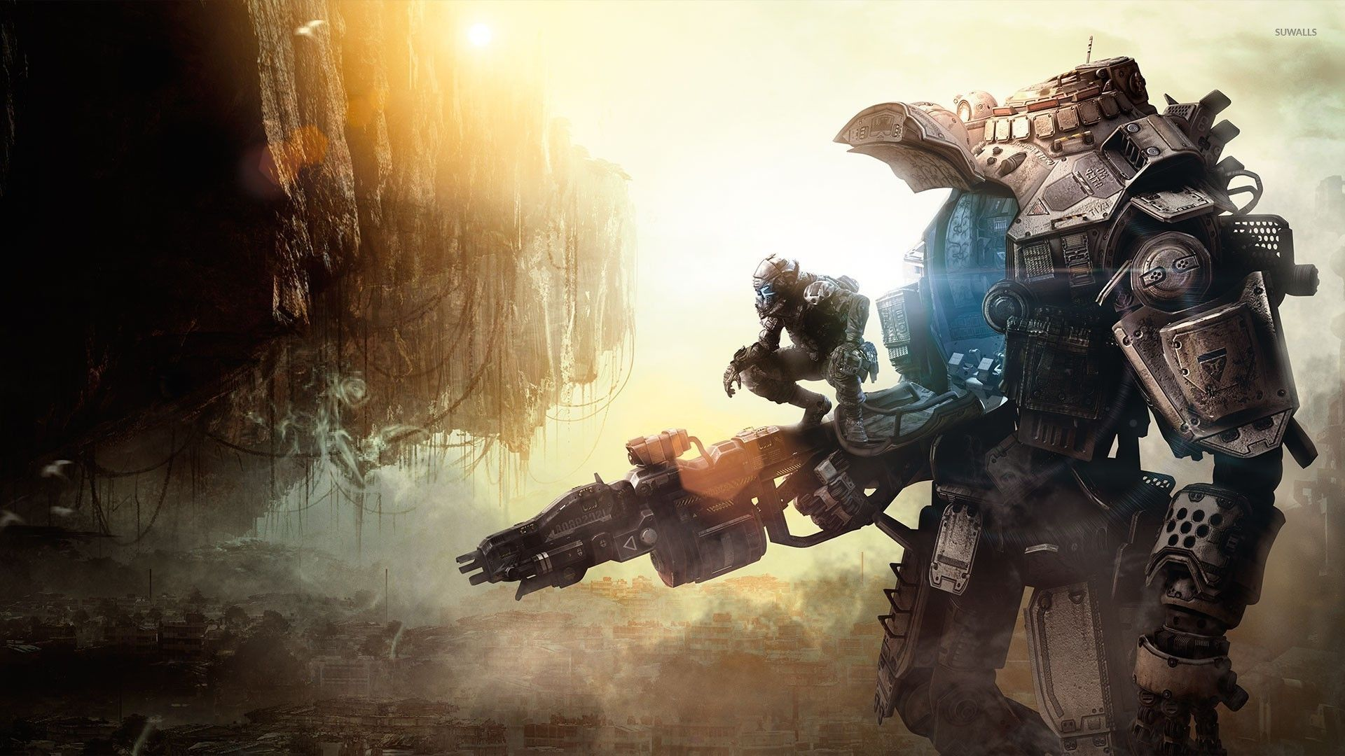 Titanfall Wallpapers High Definition In 2020 Titanfall Titanfall Game Gaming Wallpapers