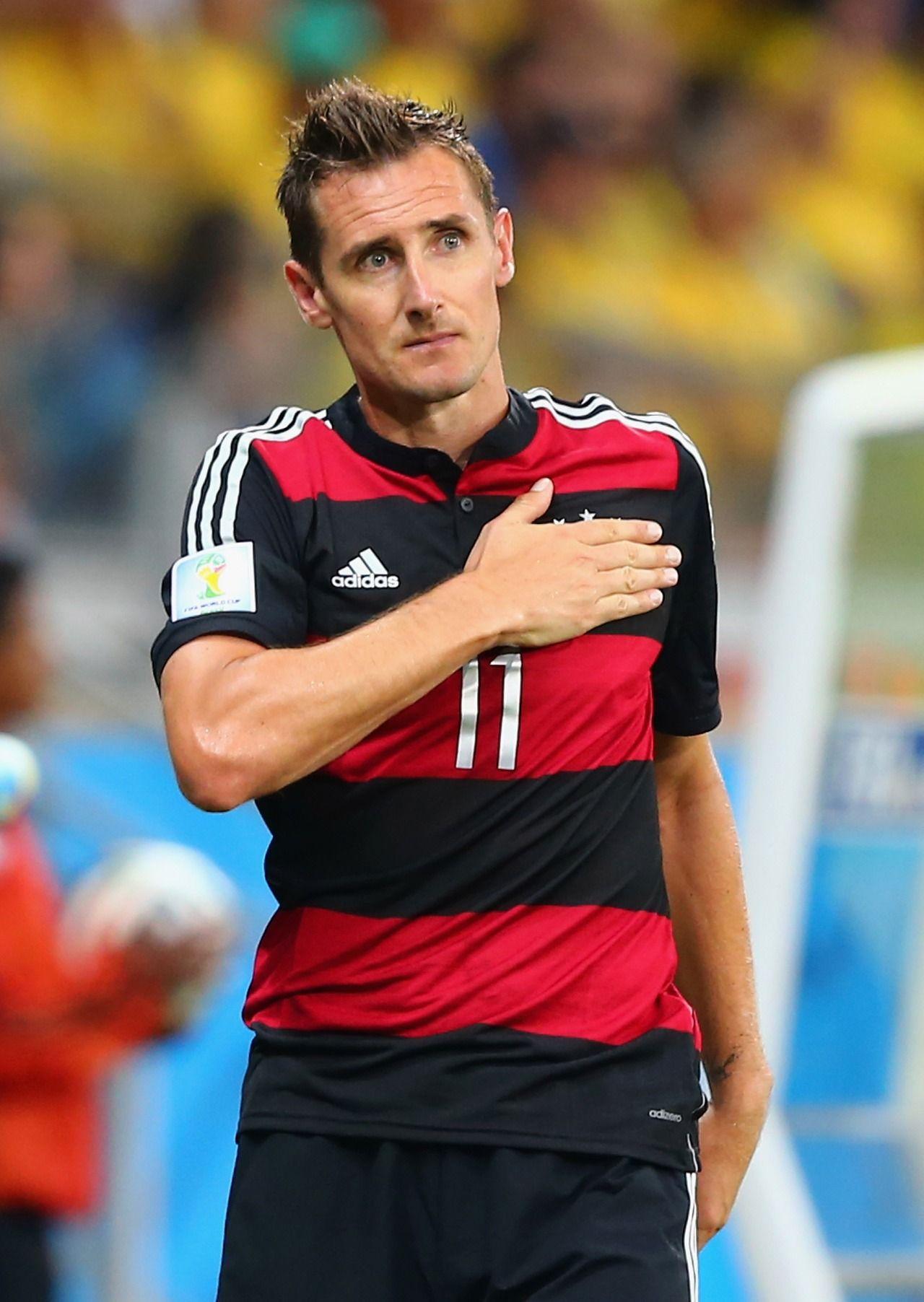 Germany Miroslav Klose. The Leading Scorer in World Cup ...