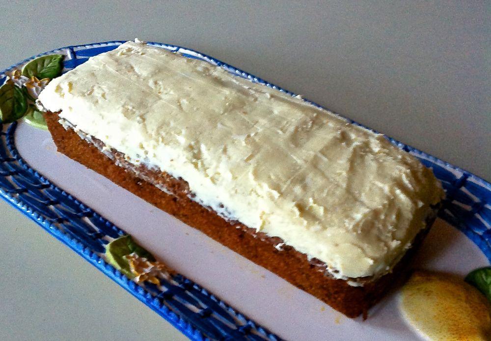 carrot cake à la maison