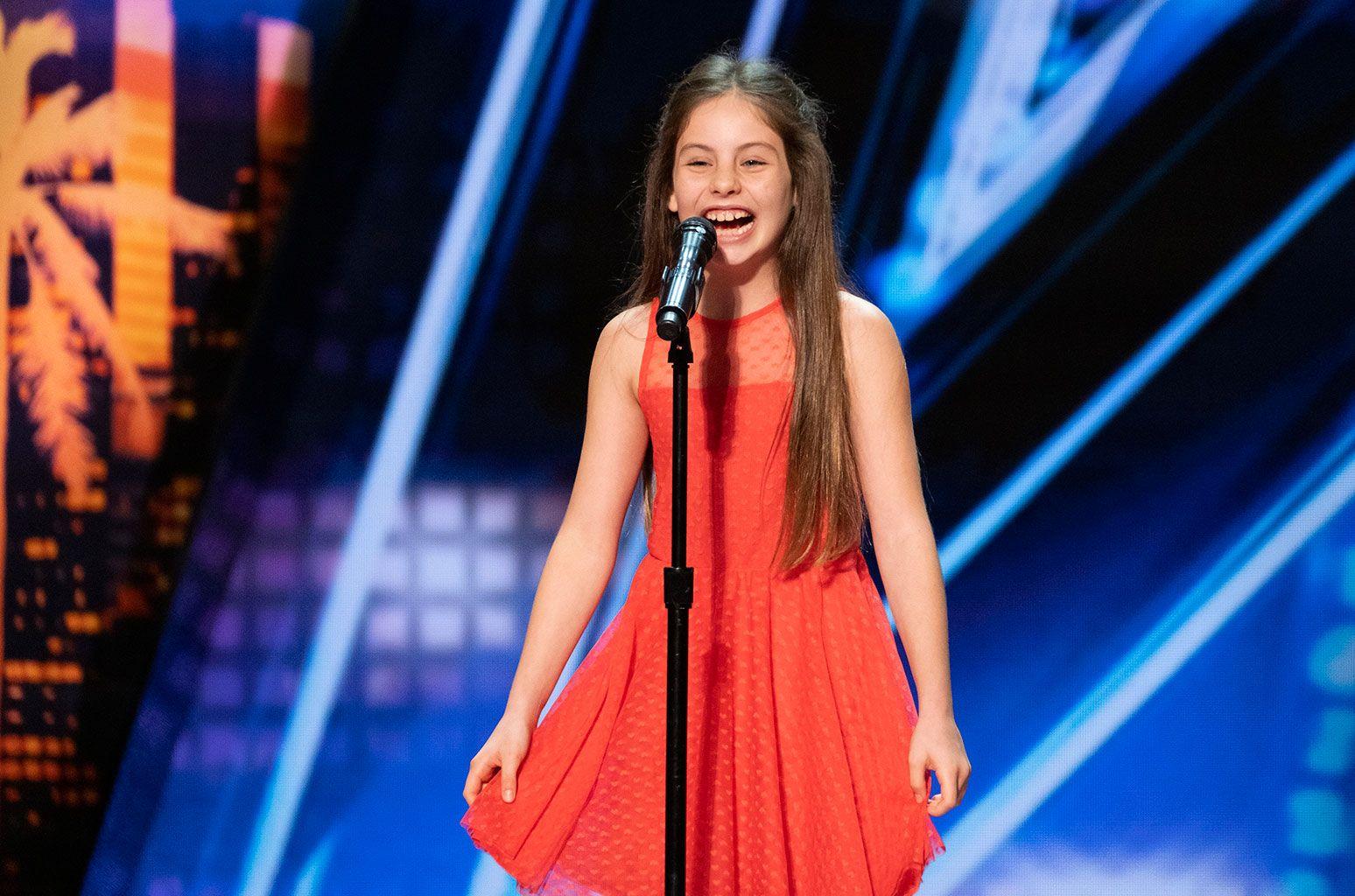 Emanne Beasha Performs Nessun Dorma On America S Got Talent Watch America S Got Talent Old Singers Singer