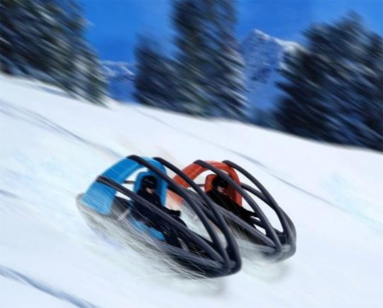 Here's the Slegoon, a concept winter sled that will even