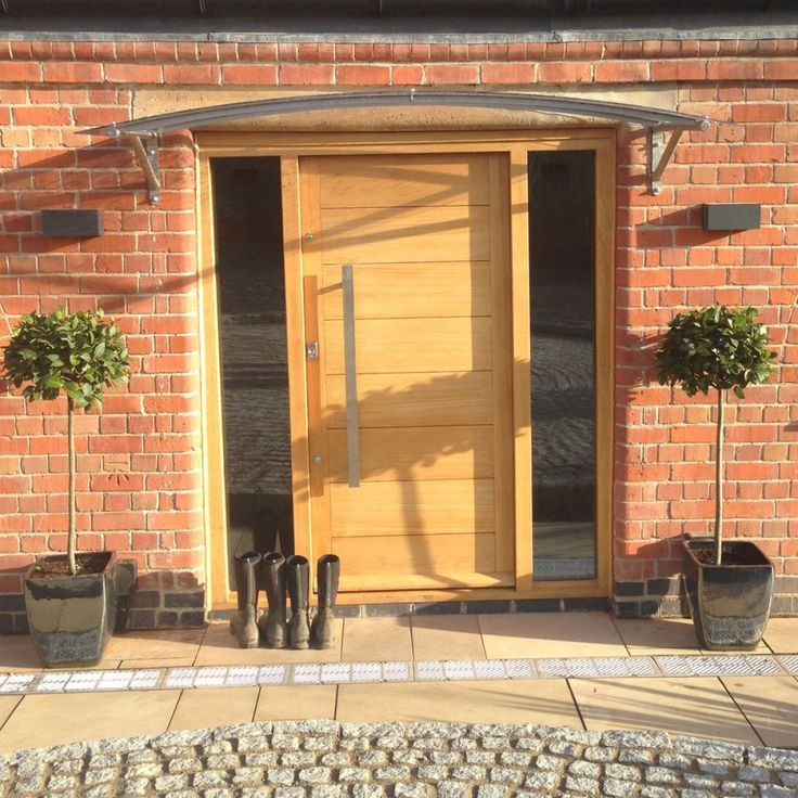 Image result for modern canopy for front entrance & Glass door canopy with laser cut lettering to customise. In 3 ...