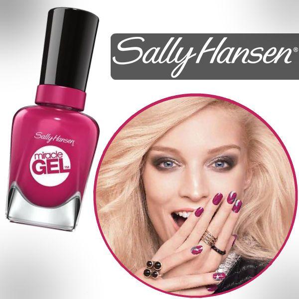Visita Walmart y consigue los Sally Hansen Miracle Gel Nail