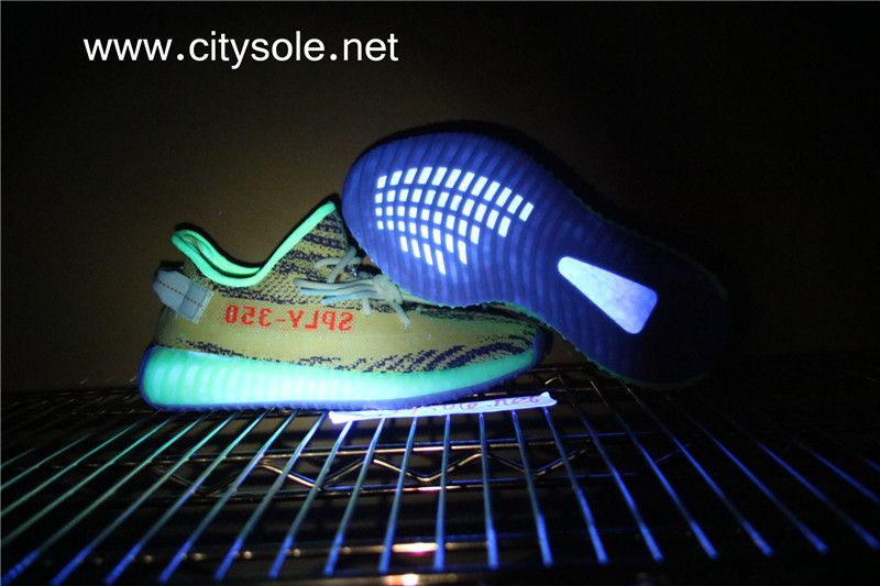 Yeezy 350s V2 Semi Frozen Yellow with