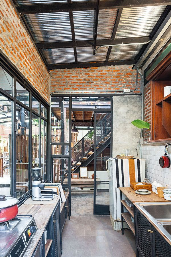 Pin de Lersak Wansanit en Architex Pinterest Casas, Techo de - como decorar un techo de lamina