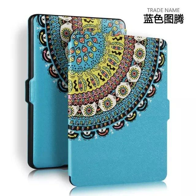 Hot Pada for kindle paperwhite case smart cover for amazon kinlde paperwhite 1 2 3 generation 6 ereader+screen protector