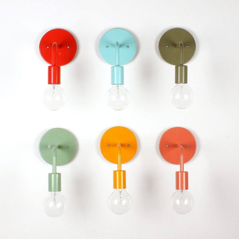 Wall Sconce: Solid Color