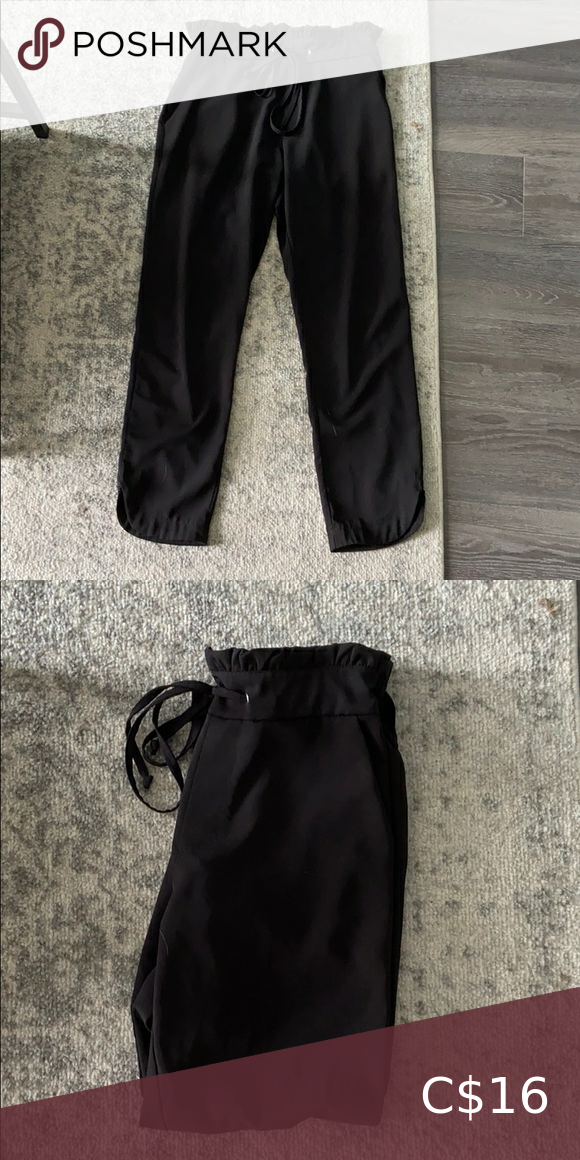 Jogger pant with tie