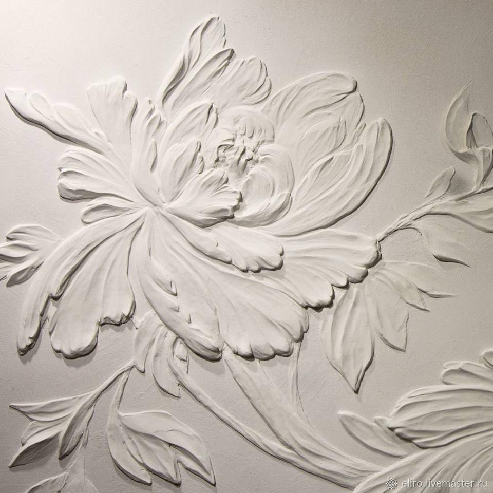 Картинки гипсовые барельефы цветов для потолка