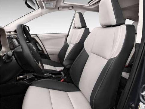 Rav4 Black And White Leather Interior