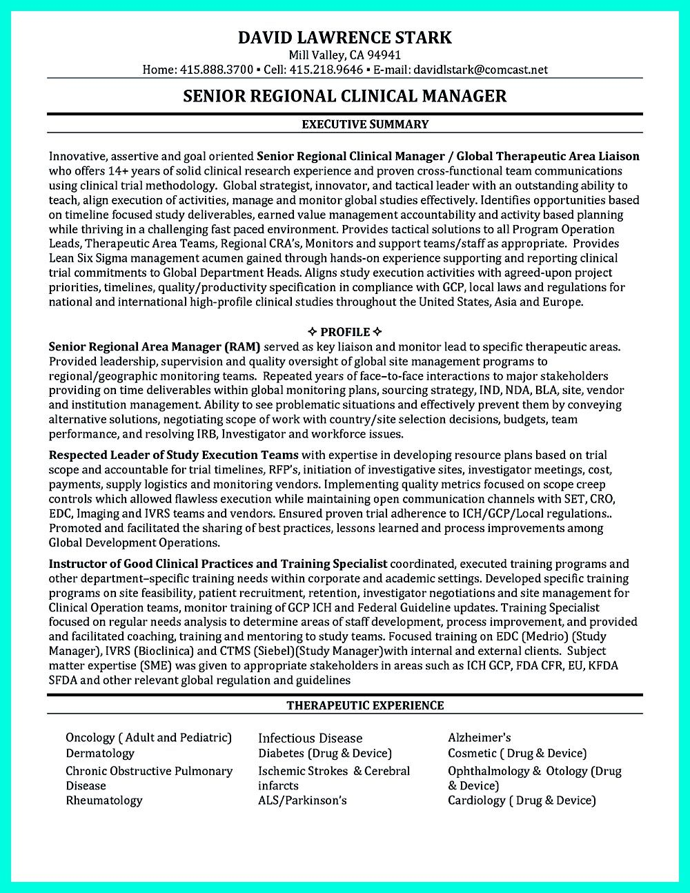 Clinical Research Coordinator Resume Objectives That Are Effective Resume Objective Clinical Research Resume