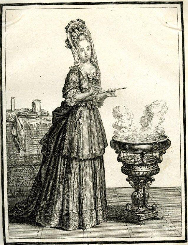 Henri II Bonnart (French artist, 1642-1711) The Elements - Fire