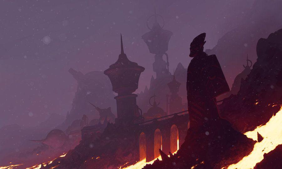 Morrowind's Red Year by Jedi-Art-Trick.deviantart.com on @DeviantArt
