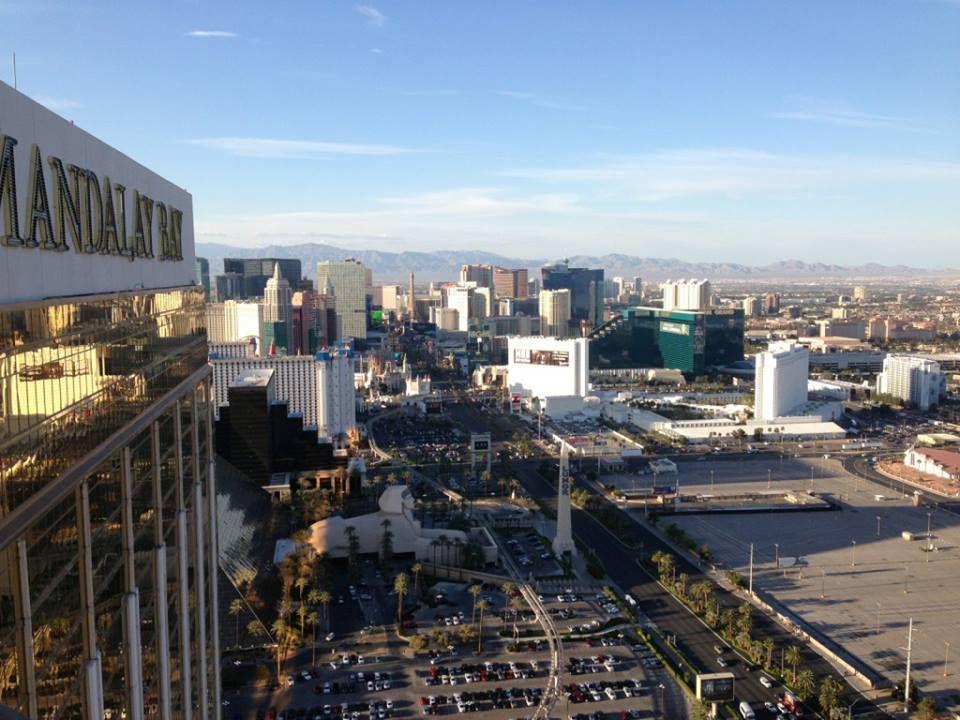 Looking at the Las Vegas Strip