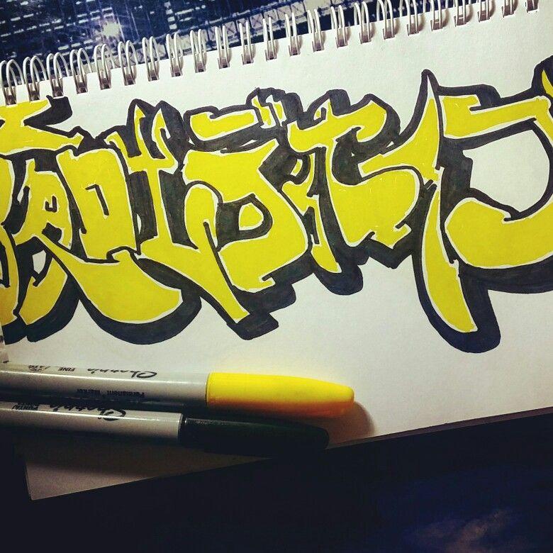 WOO p s acabo d edarme cuenta que se me había olvidado subir los doodles de las semanas pasadas pls.  Semana 3 - STREET ART / Doodle #1