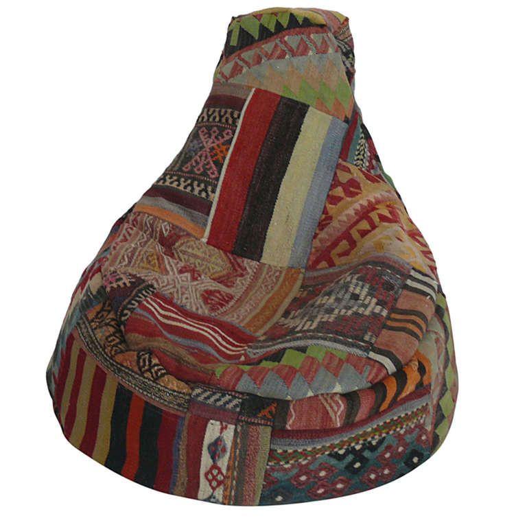 Vintage Turkish Bean Bag Chairs