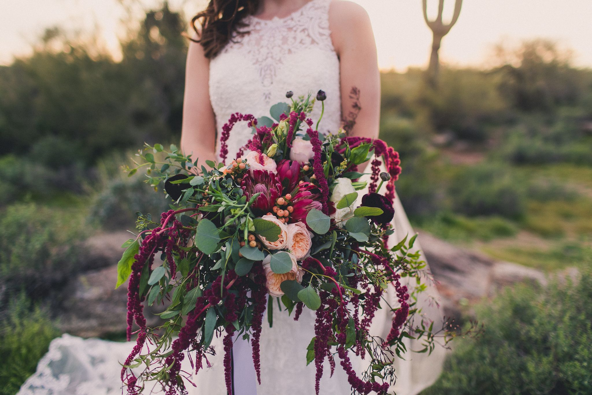 Such A Fabulously Unique Bouquet Floral Your Event Florist Photo Mike Olbinski Photography Thepas Arizona Desert Wedding Desert Wedding Arizona Wedding