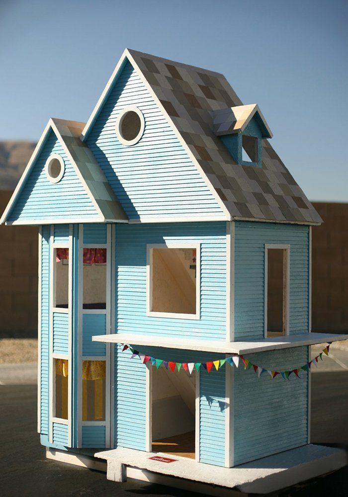 Diy pour les enfants 10 maisons de poup e faire soi m me dolls maison de poup e - Maison victorienne ...
