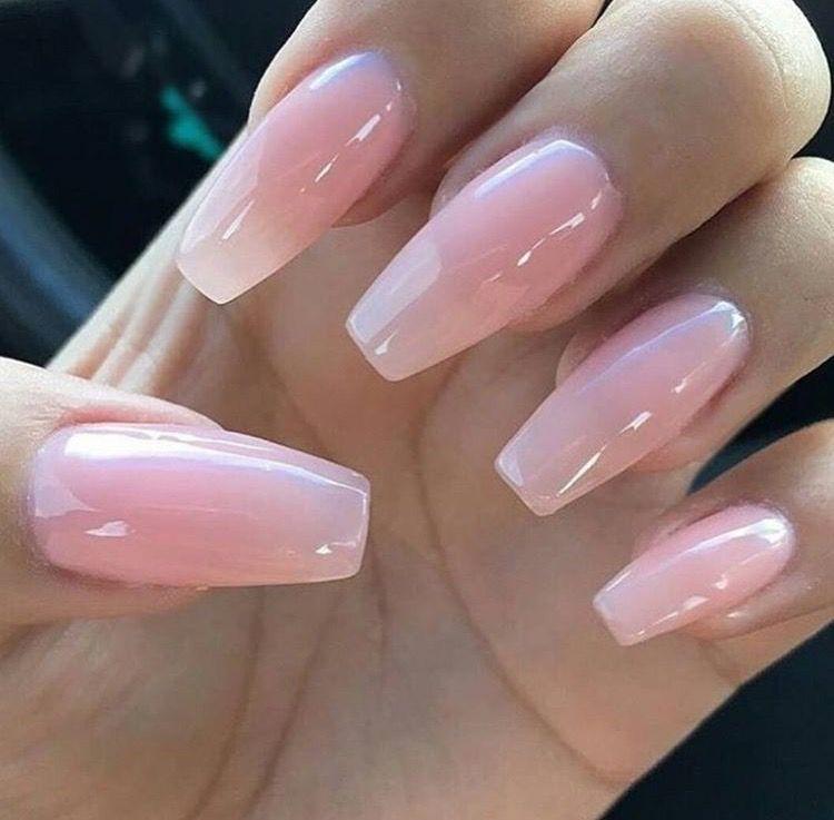 Pinterest Champanamami Pink Rose Natural Long Acrylic Nails Tan Pink Gel Nails Soft Nails Pink Acrylic Nails