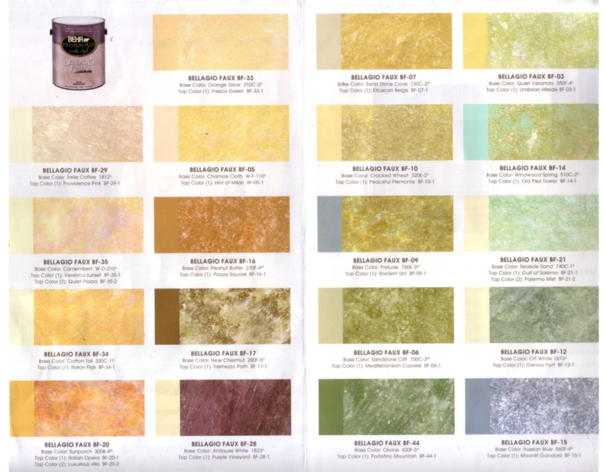 Faux Paint Color Combinations Faux Painting
