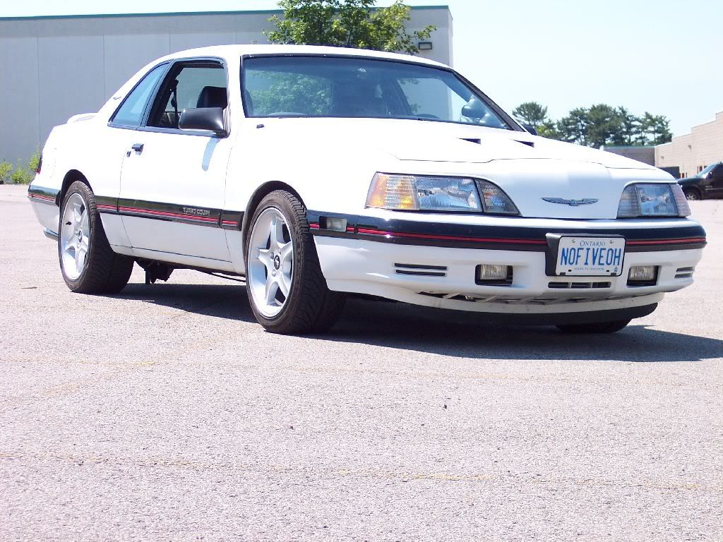1987 Ford Thunderbird Turbo Coupe: While the Mustang Turbo has a 50/50  chance of becoming a collector's wet dream, the Thunderbird Turbo may just  sneak ...
