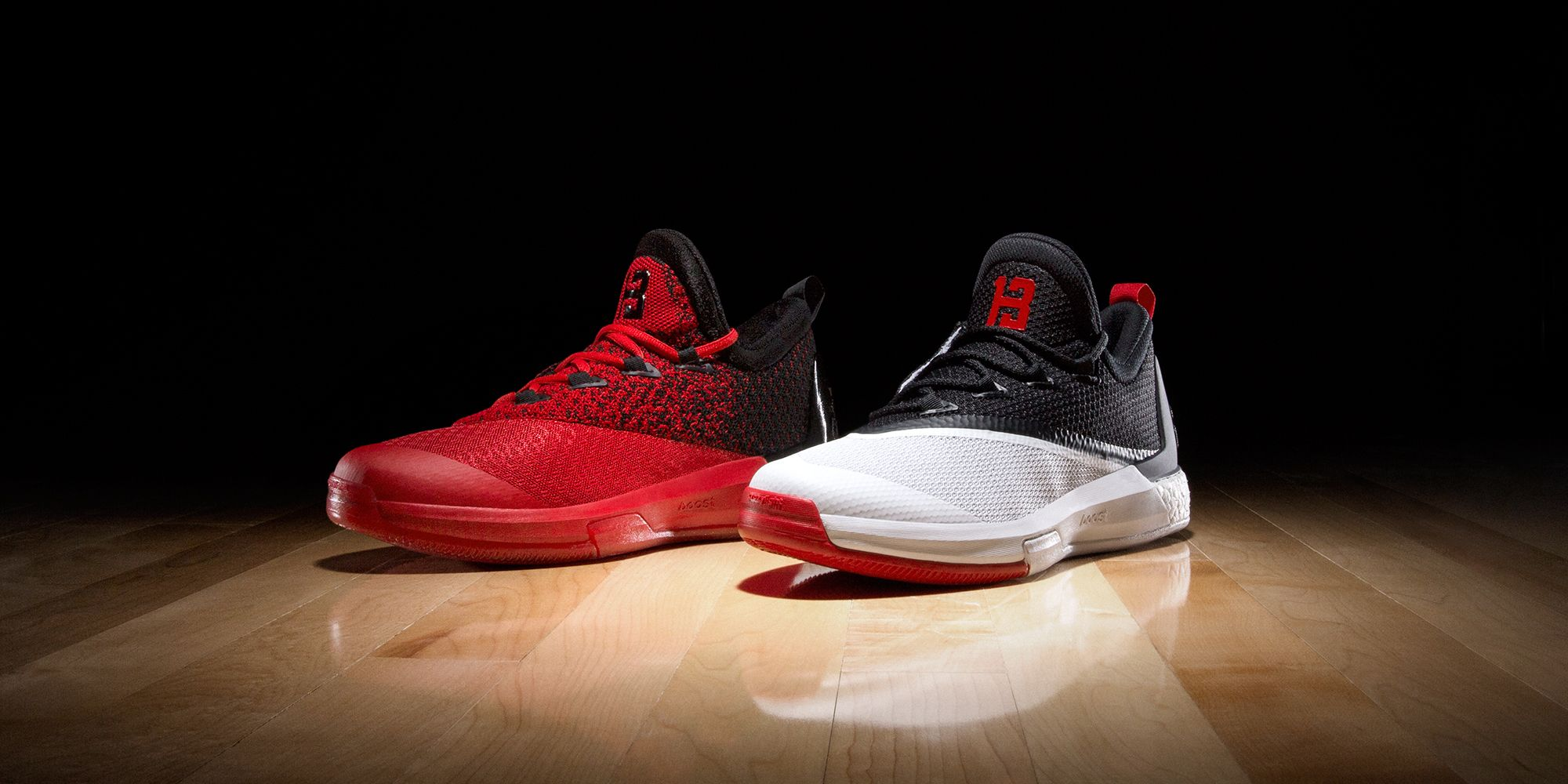 Adidas crazylight boost low 2016 bred black red mens basketball shoes - Adidas James Harden Reveal Crazylight Boost 2 5 James Harden Shoesbasketball