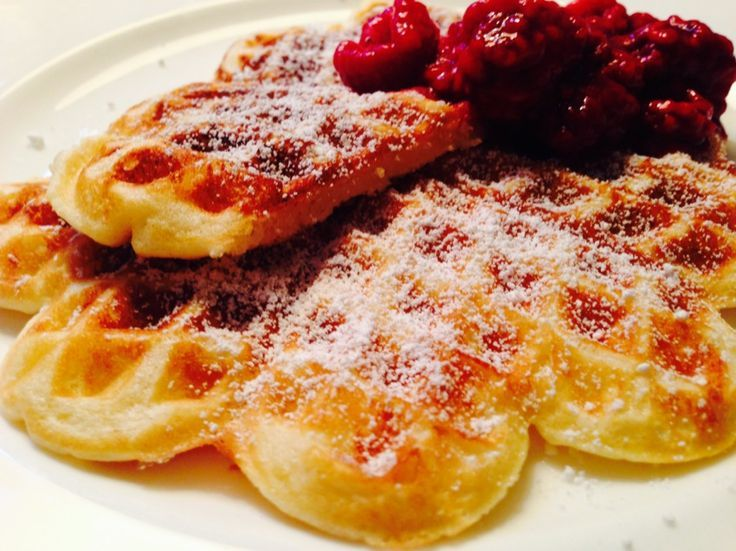Low Carb Recipe for waffles (without flour) | Low carb diet ... - -