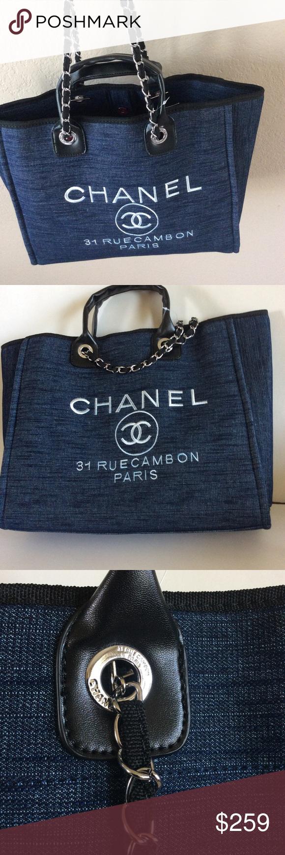 fa4e5c225e66 Make an offer🔥 Chanel VIP Gift Canvas Tote Brand new. Beautiful VIP gift  Canvas
