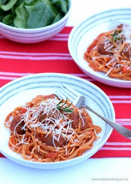 easy one-pot spaghetti & meatballs recipe   recipe
