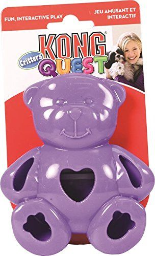 Kong Quest Critter Bear Toy Small Click Image For More Details