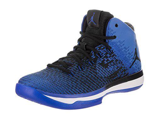 Jordan Nike Kids Air XXXI BG BlackGame Royal White Basketball Shoe 5 Kids US  **