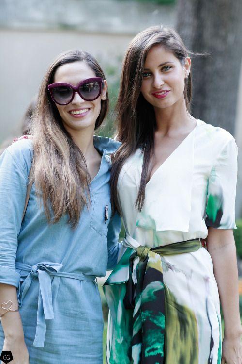 Sofya Benzakour & Malika Menard by Claire Guillon - CGstreetstyle