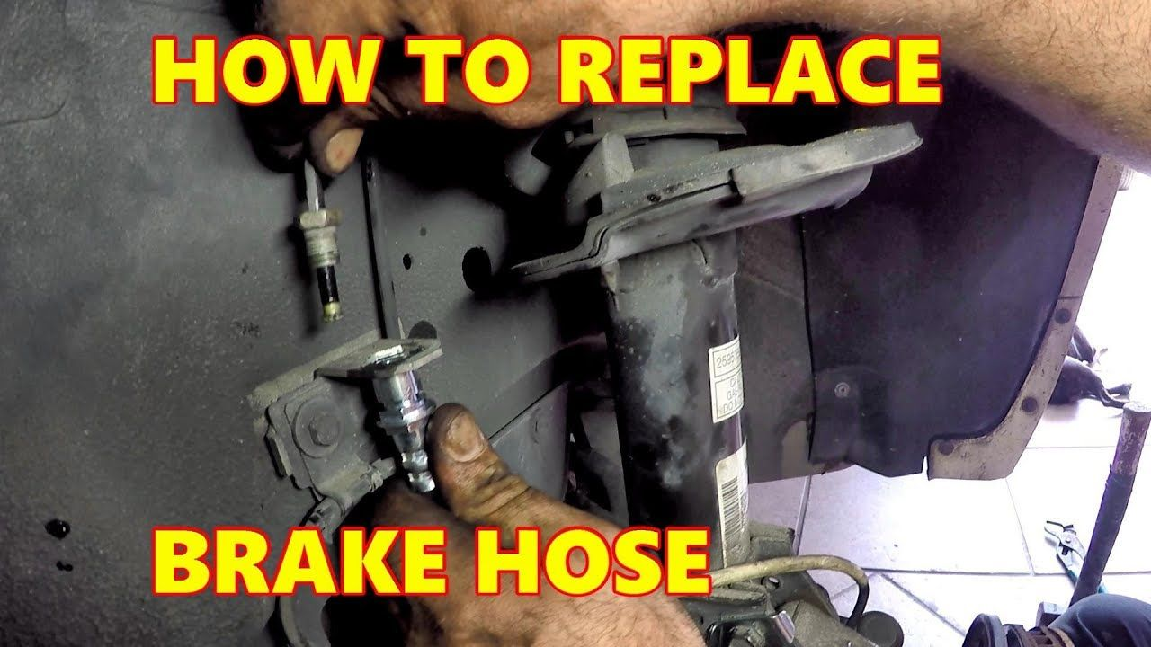 How To Replace Front Brake Hoses Saturn Vue 2008 Auto Repair Front Brakes Hoses