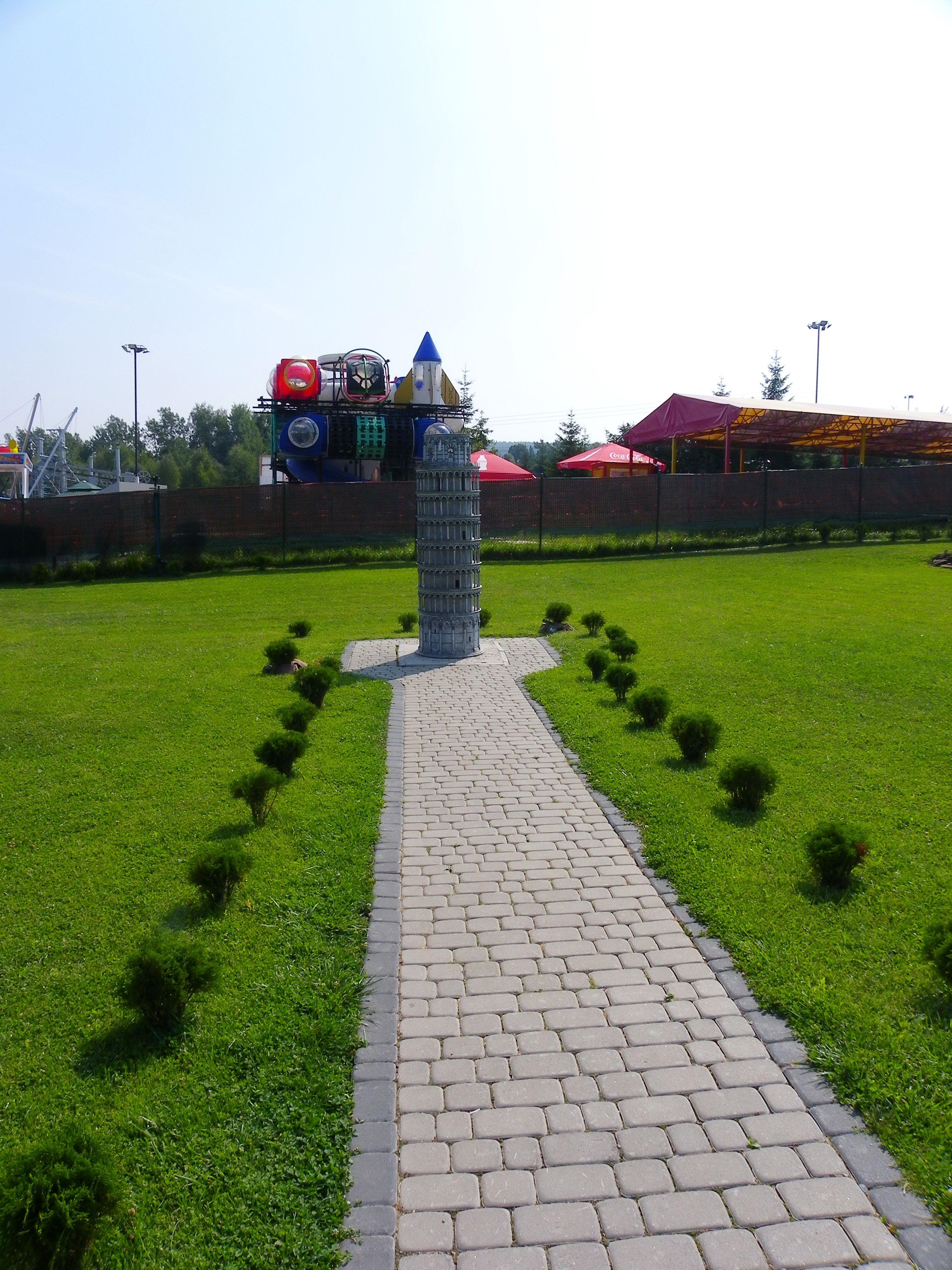 Krajno-Zagórze.Park rozrywki i miniatur.
