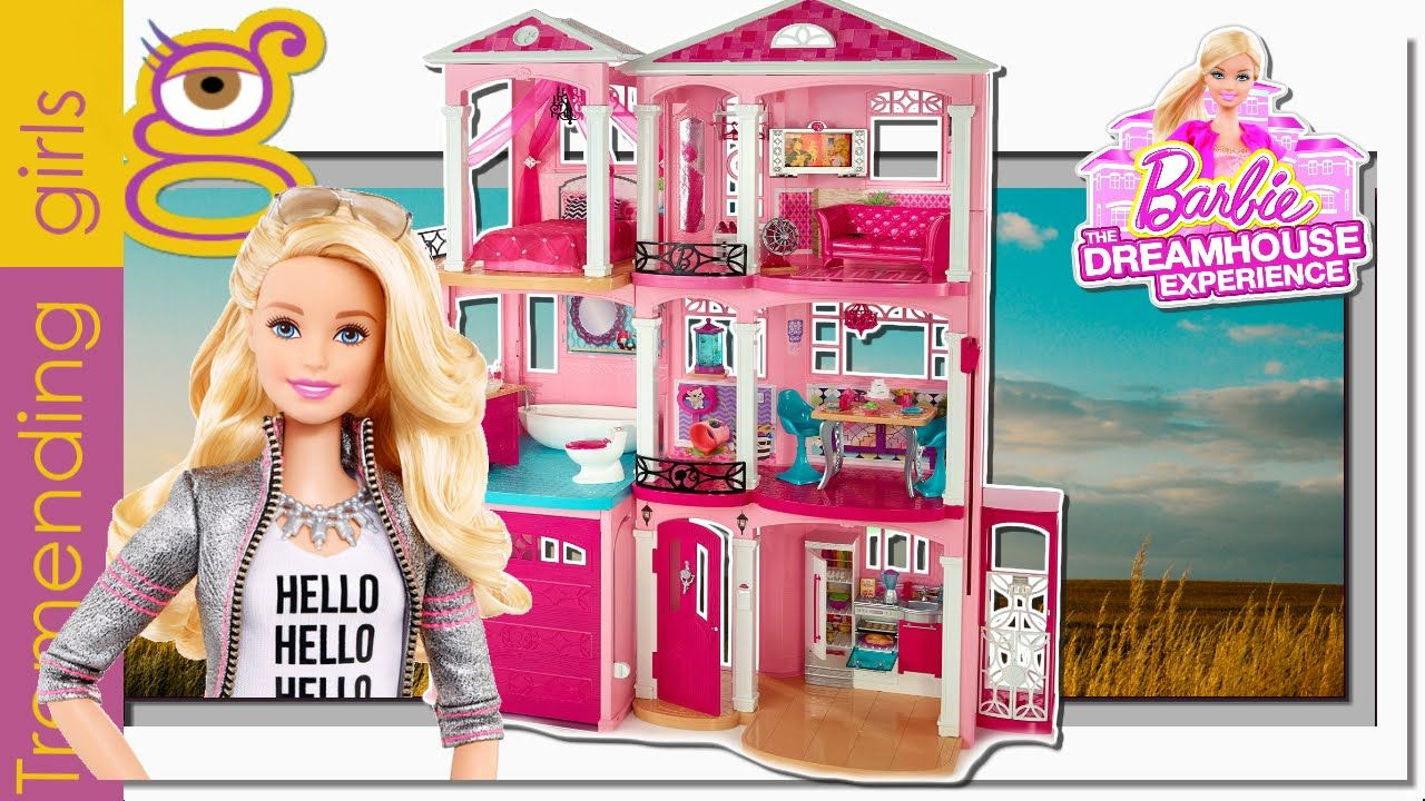 Barbie dreamhouse 2015 nueva casa de los sue os de tres - Supercasa de barbie ...
