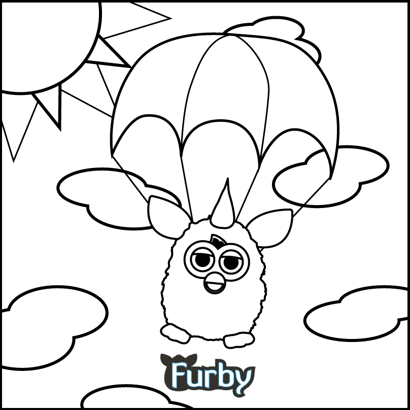 furby colouring in pages #kids #coloring #colouring #pages #furby ...