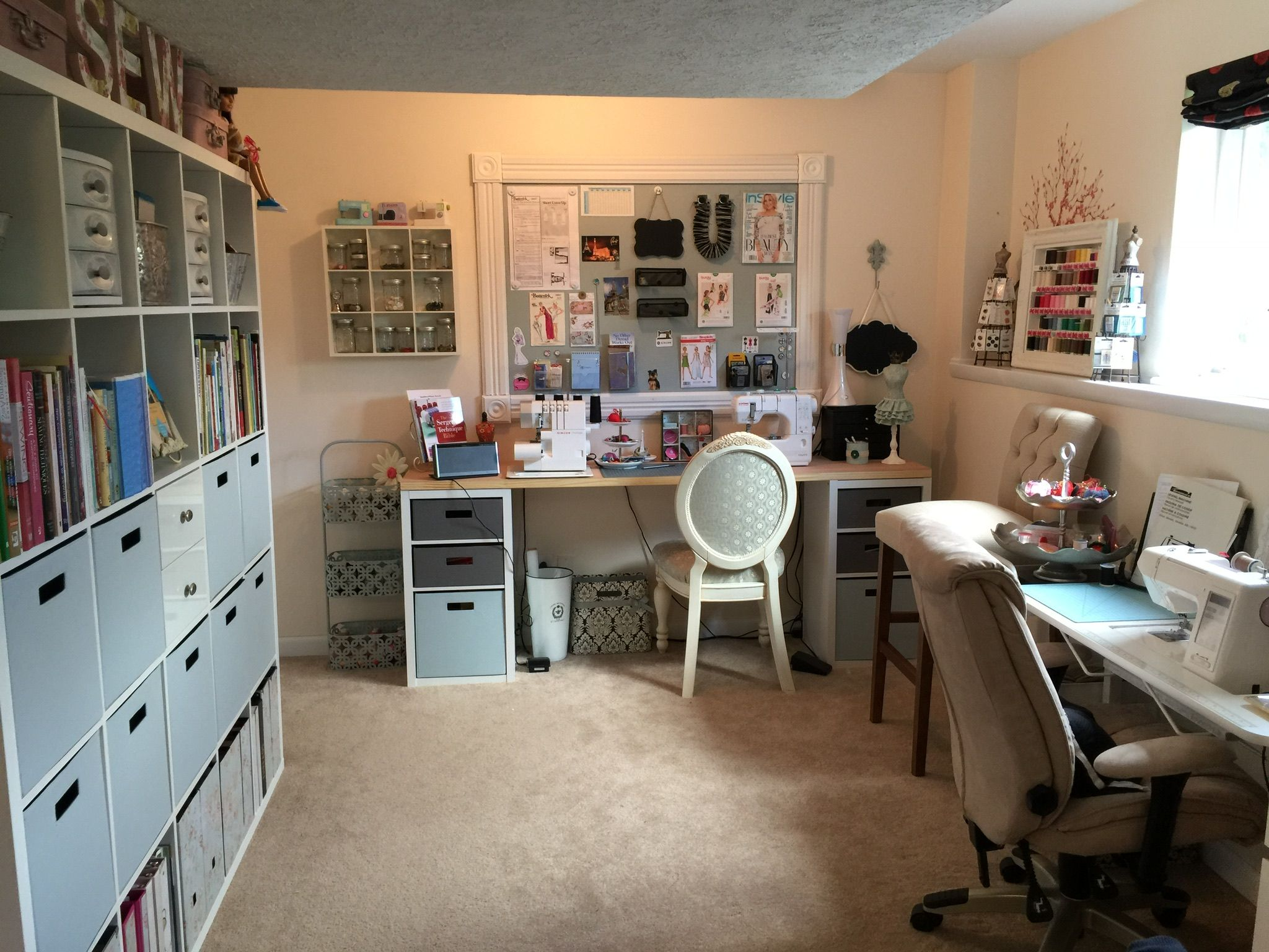 Quilt Room Design Ideas Part - 39: It Seems Like My Sewing Room Is Always A Work In Progress