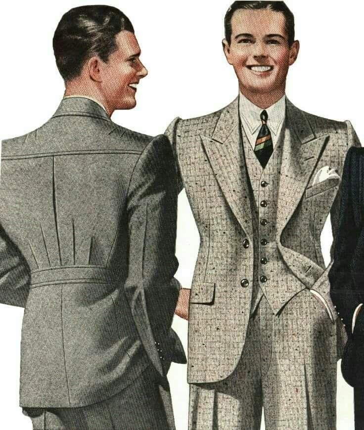 Mens Fashion 1930s FashionVintage