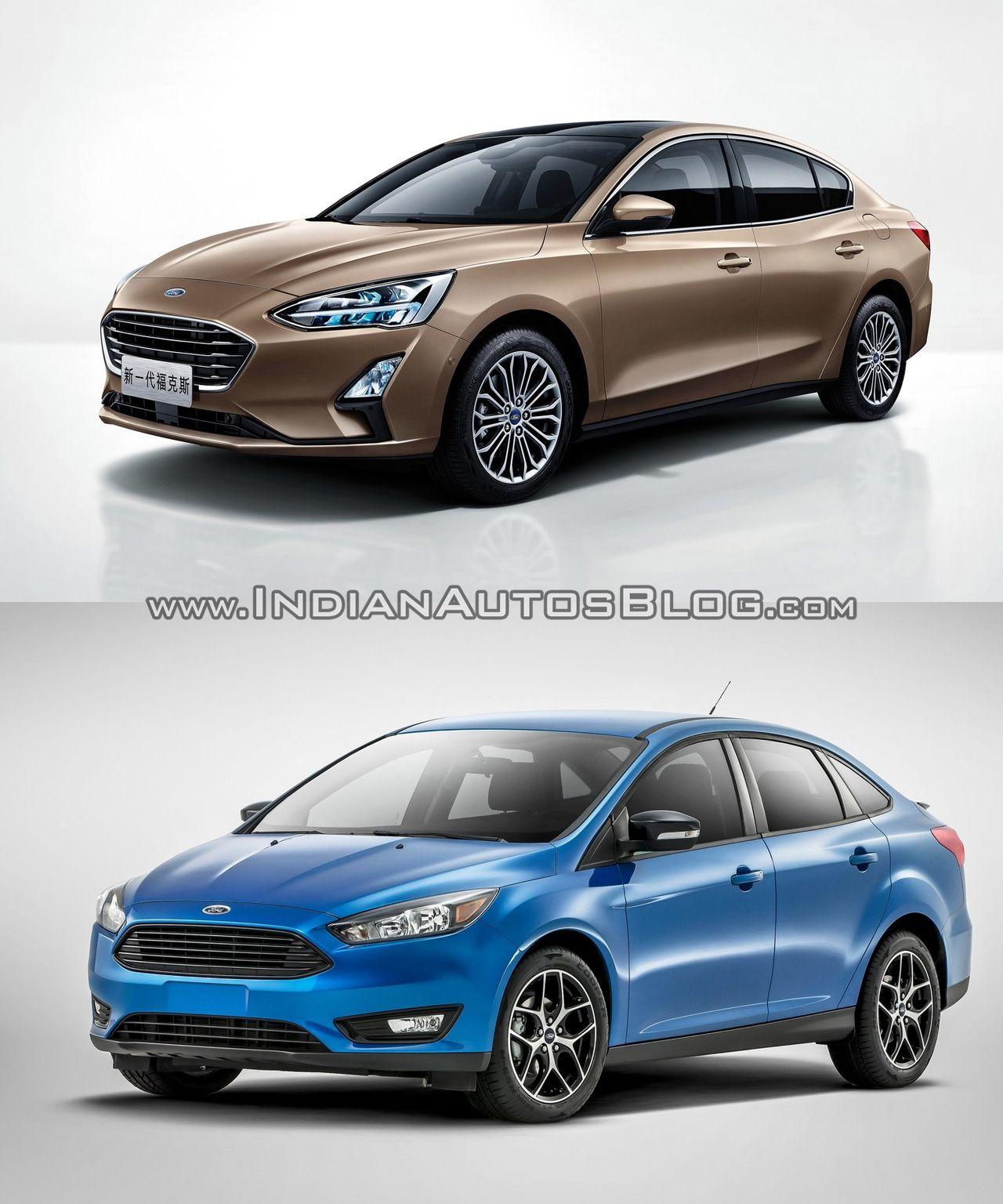 2018 Ford Focus Sedan Vs 2014 Ford Focus Sedan Old Vs New Ford