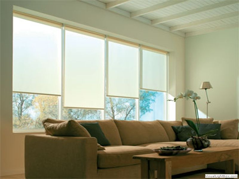 Roller blinds decorartehogar 14 cortinas roller zebra - Cortinas tipo persianas ...